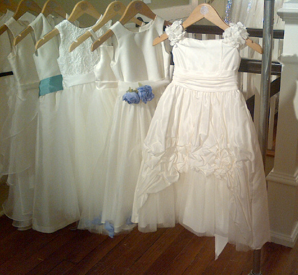 Flower girl dresses, bridesmaid dresses and bridal gowns for your wedding