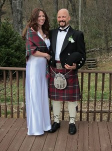 This elopement on St. Patrick's day, took place at a Guest House in Stanardsville
