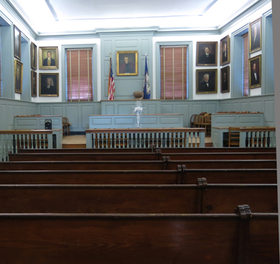 The Interior Of Hanover County Courthouse