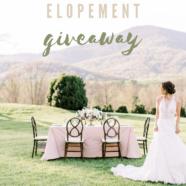 Glenthorne Farm's FREE Elopement Package!